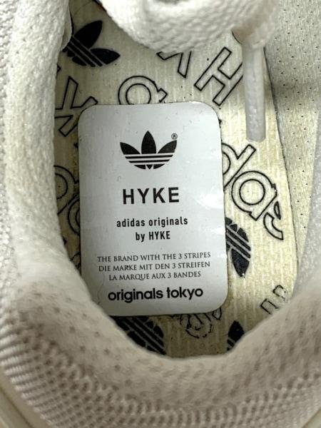 HYKE(ハイク) シューズ 23 レディース アイボリー adidasコラボ ナイロン×スエード