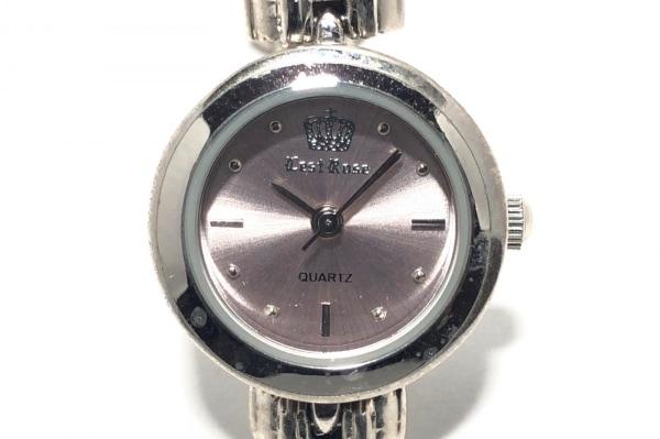 L'EST ROSE(レストローズ) 腕時計 - レディース ラインストーン ピンク