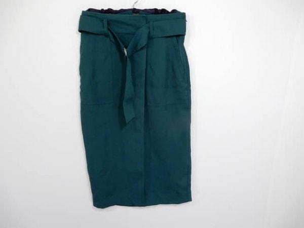 ピンキー&ダイアン スカート サイズ36 S レディース美品  ダークグリーン