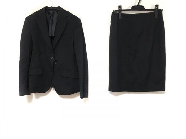 LES MUES(レミュー) スカートスーツ サイズSS XS レディース 黒 肩パッド