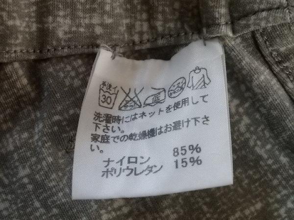 ハート パンツ サイズ2 M レディース ベージュ×ブラウン×マルチ リバーシブル