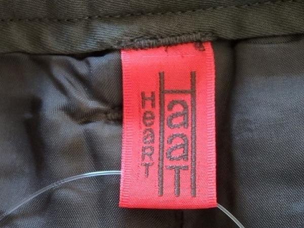 HaaT HeaRT(ハート) パンツ サイズ1 S レディース ダークブラウン×ブラウン