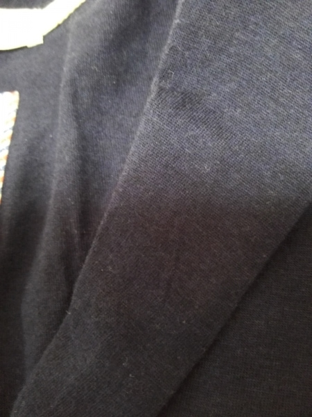 ビームスライツ ジャケット サイズM メンズ ネイビー×白 ボーダー/春・秋物