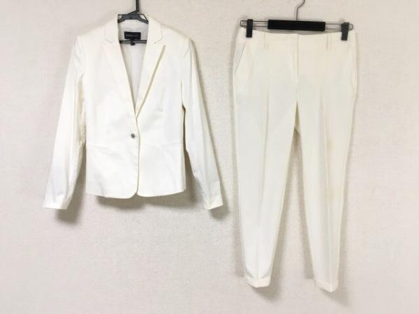 MANGO SUIT(マンゴ) レディースパンツスーツ サイズEUR36USA4 レディース 白