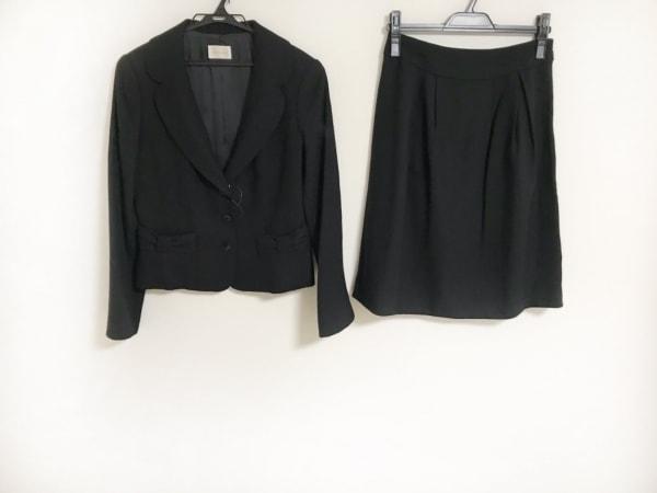 HARRODS(ハロッズ) スカートスーツ サイズ3 L レディース美品  黒