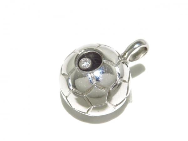 Chopard(ショパール) ペンダントトップ美品  79/4656 K18WG×ダイヤモンド