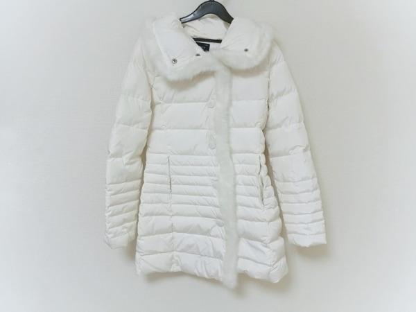 sale retailer 59e88 50b78 ARMANIJEANS(アルマーニジーンズ) ダウンコート レディース 白 冬物