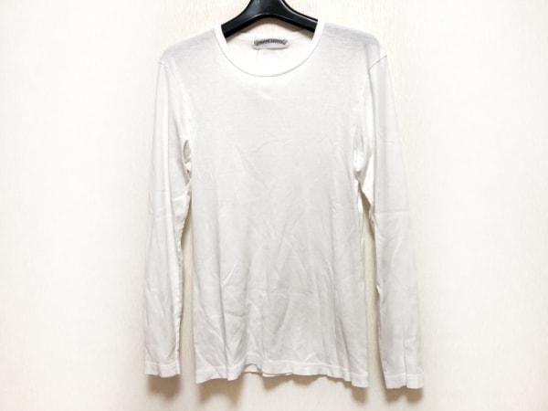 Chrome hearts(クロムハーツ) 長袖Tシャツ サイズL レディース 白