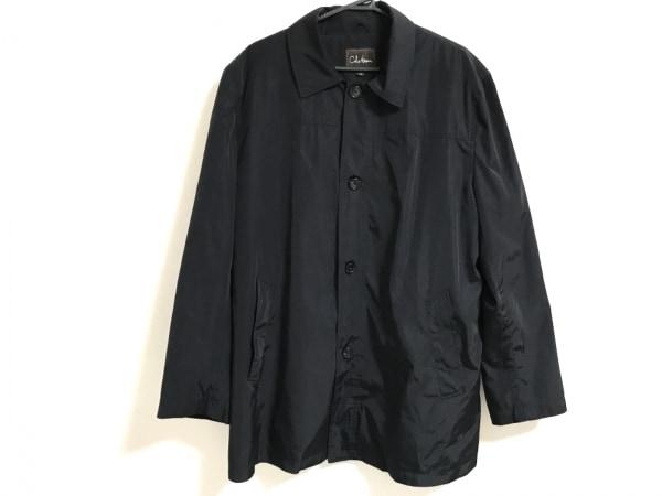 COLE HAAN(コールハーン) コート サイズL メンズ 黒 冬物/ジップアップ