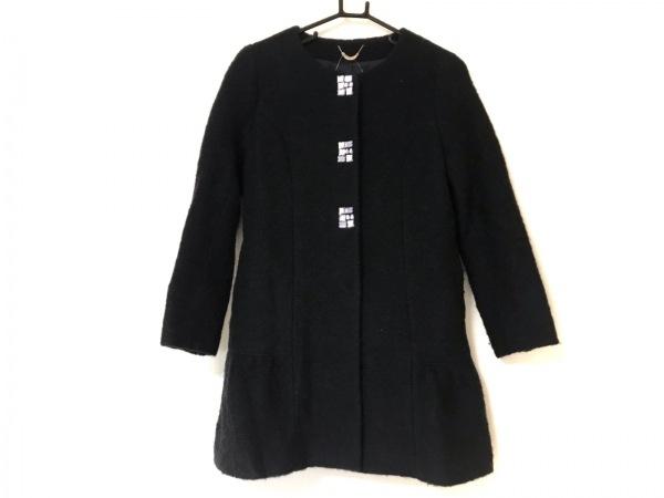 Rose Tiara(ローズティアラ) コート サイズS レディース美品  ダークネイビー