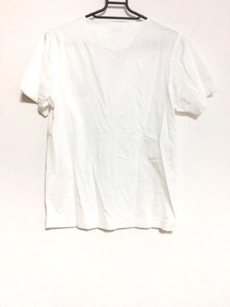 PaulSmith(ポールスミス) 半袖カットソー サイズS メンズ美品  白×オレンジ×ピンク