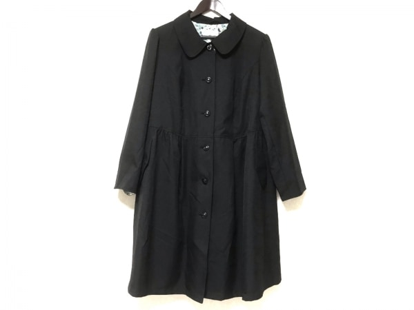 プライベートレーベル コート サイズ38 M レディース美品  黒 春・秋物