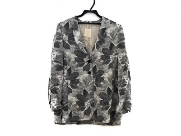 Libra(リブラ) ジャケット サイズ13 L レディース ライトグレー×黒