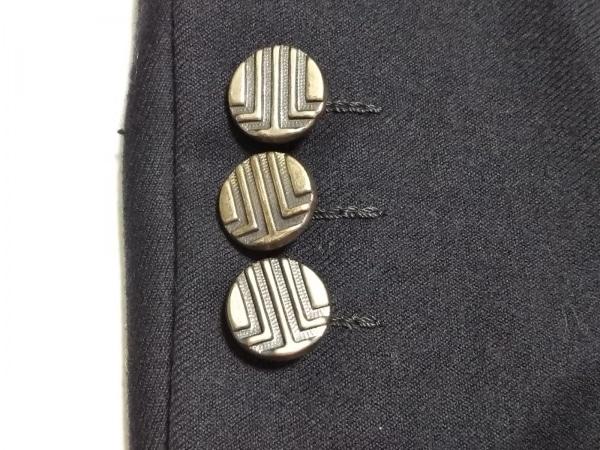 LANVIN(ランバン) ジャケット サイズR46-44 メンズ ダークネイビー ネーム刺繍