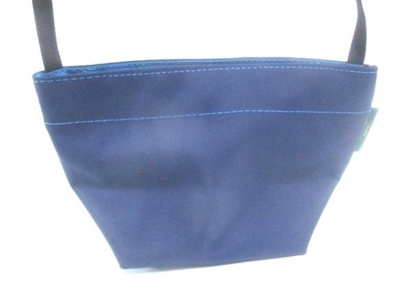 エルベシャプリエ ショルダーバッグ ネイビー×ブルー×黒 ミニサイズ ナイロン