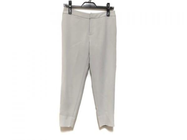 LE CIEL BLEU(ルシェルブルー) パンツ サイズ36 S レディース ライトグレー