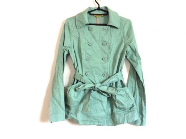 JOCOMOMOLA(ホコモモラ) コート サイズ40 XL レディース ライトグリーン 春・秋物