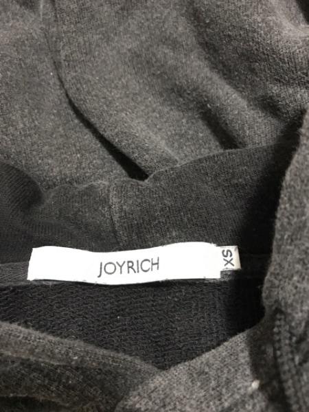 JOYRICH(ジョイリッチ) パーカー サイズXS メンズ 黒×レッド×イエロー