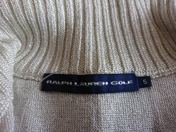 RalphLaurenGOLF(ラルフローレンゴルフ) ベスト サイズS レディース美品  アイボリー