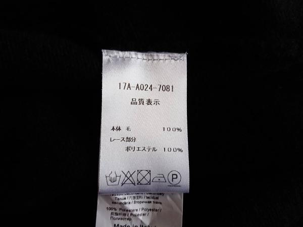 N゜21(ヌメロ ヴェントゥーノ) 半袖セーター サイズ38 M レディース美品  黒