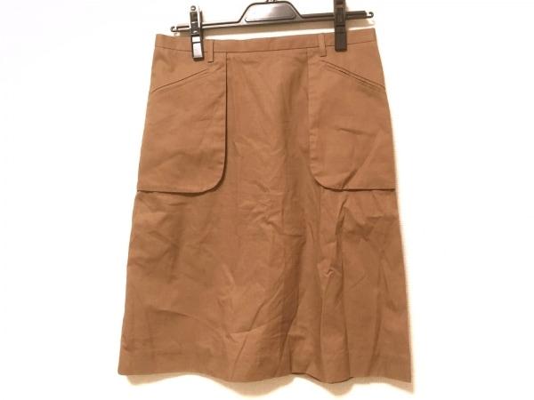 SOFIE D'HOORE(ソフィードール) スカート サイズ36 S レディース ライトブラウン