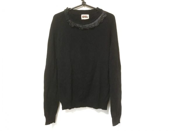 OPENING CEREMONY(オープニングセレモニー) 長袖セーター サイズM レディース 黒