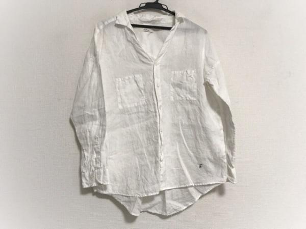 le glazik(グラジック) 長袖シャツ サイズ36 S メンズ美品  白