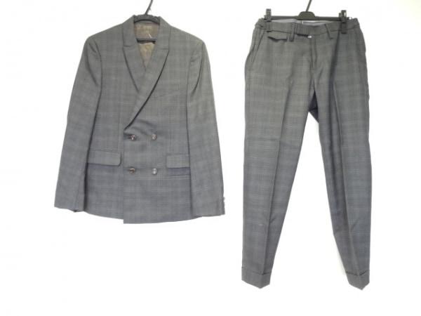 DESIGNWORKS(デザインワークス) シングルスーツ サイズ46 XL メンズ ネイビー×ブルー