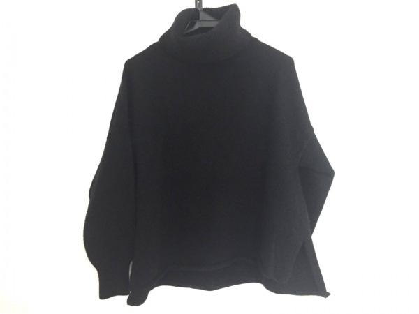 DEUXIEME CLASSE(ドゥーズィエム) 長袖セーター レディース 黒 タートルネック