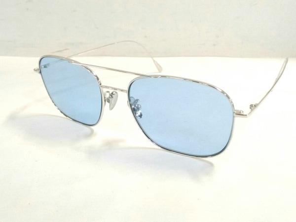 CUTLER AND GROSS(カトラーアンドグロス) サングラス美品  1267 ブルー×シルバー