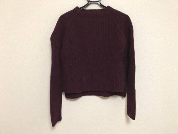 upper hights(アッパーハイツ) 長袖セーター サイズ0 XS レディース ボルドー