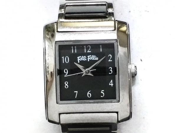 FolliFollie(フォリフォリ) 腕時計 WF15T017BP レディース 黒