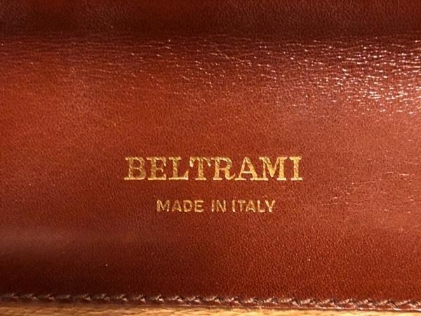 BELTRAMI(ベルトラミ) セカンドバッグ ブラウン レザー