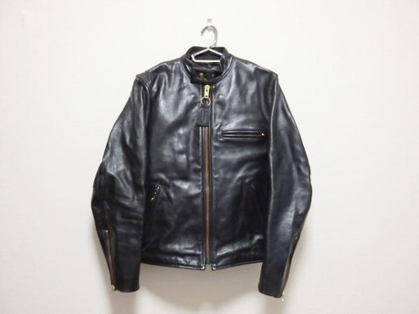 VANSON(バンソン) ライダースジャケット サイズ40 M メンズ 黒 春・秋物