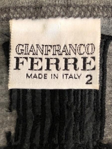 GIANFRANCO FERRE(ジャンフランコフェレ) タンクトップ サイズ2 M メンズ グレー