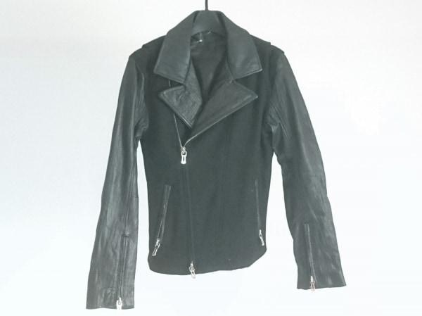 SHELLAC(シェラック) ライダースジャケット サイズS メンズ美品  黒 ラムレザー/冬物
