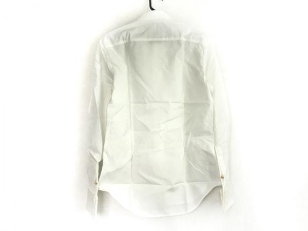 DRESS CAMP(ドレスキャンプ) 長袖シャツ サイズ44 L メンズ 白 ラメ