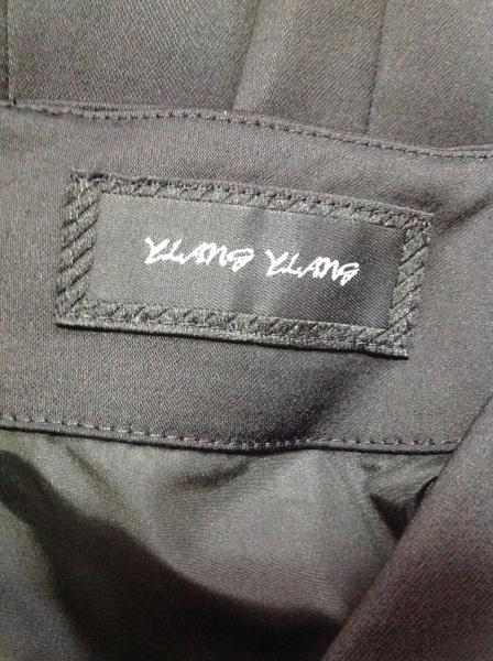 YLANG YLANG(イランイラン) ワンピース レディース美品  黒