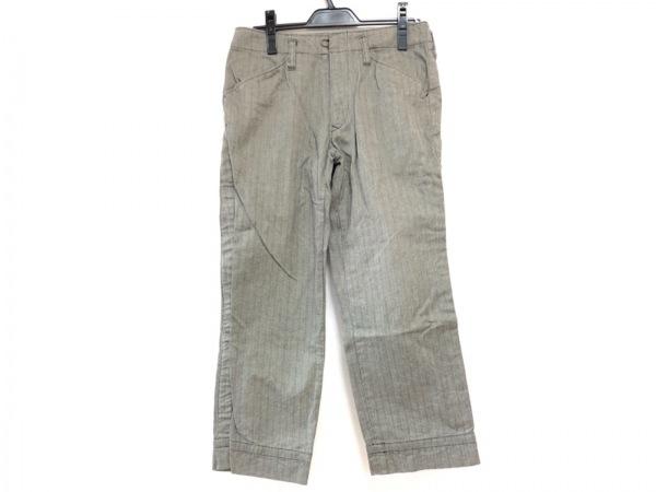 kolor(カラー) パンツ サイズ1 S メンズ グレー×黒