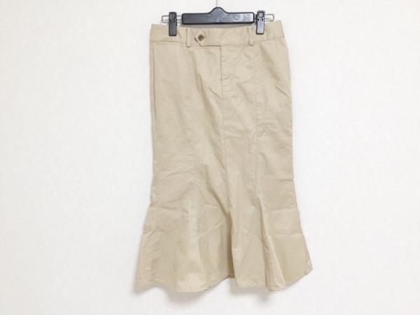 RalphLauren(ラルフローレン) ロングスカート サイズ7 S レディース ベージュ