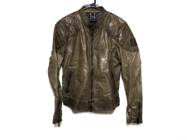 BELSTAFF(ベルスタッフ) ライダースジャケット サイズ50 メンズ美品  ダークブラウン