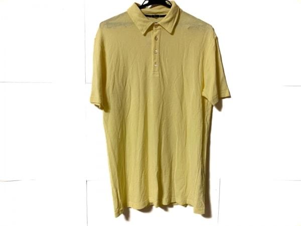 ZANONE(ザノーネ) 半袖ポロシャツ サイズ54 メンズ ライトイエロー