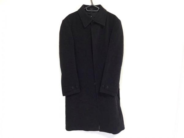 monsieur NICOLE(ムッシュニコル) コート サイズ48 XL メンズ 黒 冬物