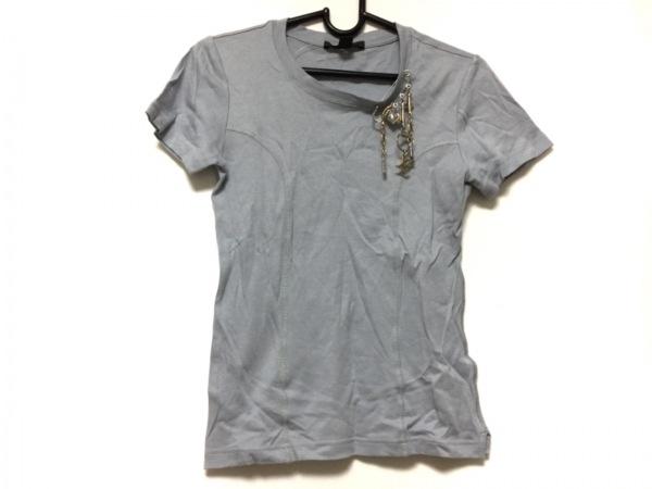 LOUIS VUITTON(ルイヴィトン) 半袖Tシャツ サイズXS レディース ライトブルー