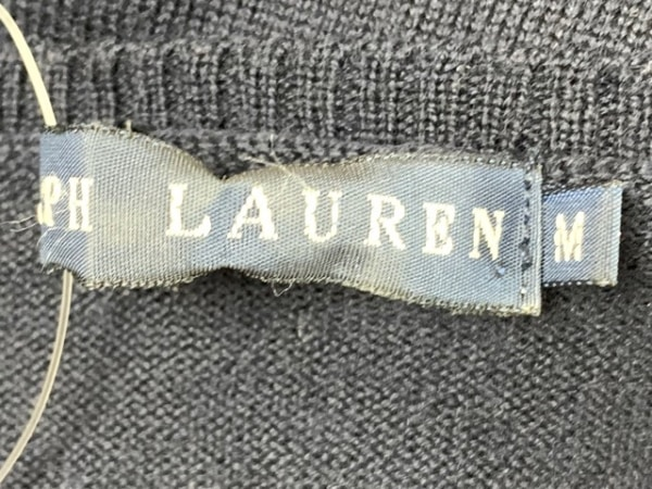 RalphLauren(ラルフローレン) 長袖セーター サイズM レディース ダークネイビー