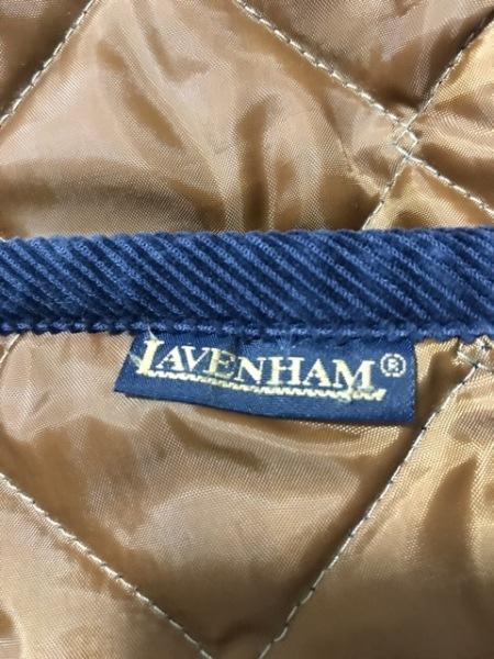 LAVENHAM(ラベンハム) ベスト サイズ38 M レディース ブラウン×ブルーグリーン