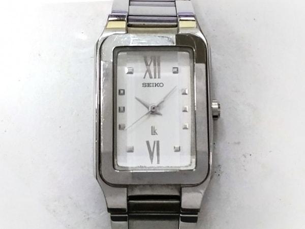 SEIKO(セイコー) 腕時計 ルキア 1N01-0CD0 レディース 白