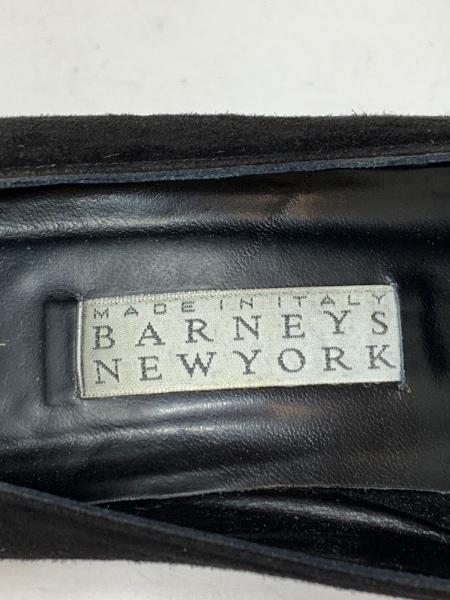 BARNEYSNEWYORK(バーニーズ) パンプス 36.5 レディース 黒 スエード