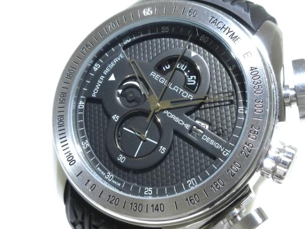 PORSCHE DESIGN(ポルシェデザイン) 腕時計 REGULATOR P'6780 メンズ クロノグラフ 黒