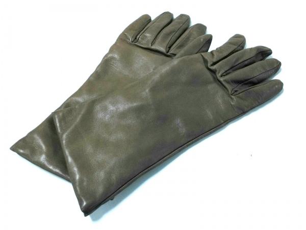 ALPO(アルポ) 手袋 8 レディース ブラウン レザー